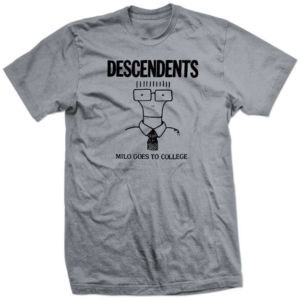 Descendents- Milo Goes To College on grey shirt