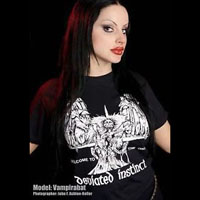 Deviated Instinct- Welcome To The Orgy #2 on a black shirt (Sale price!)
