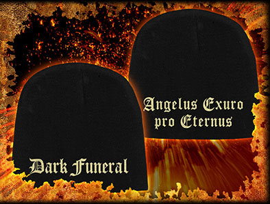 Dark Funeral- Logo 2-Sided beanie