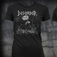 Disorder- Perdition on a black girls fitted shirt