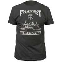 Dead Kennedys- Frankenchrist on a charcoal ringspun cotton shirt