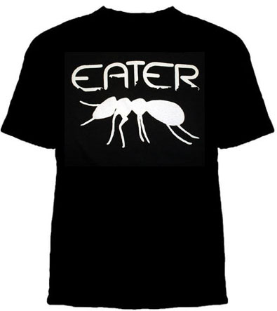 Eater- Ant on a black shirt (Sale price!)