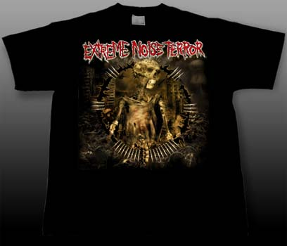 Extreme Noise Terror- Corpse on a black shirt