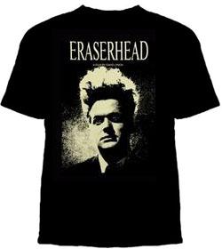 Eraserhead- Face on a black shirt