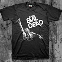 Evil Dead- Girl on a black shirt
