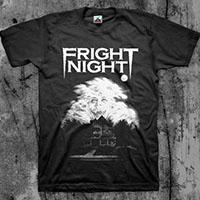 Fright Night- House on a black shirt