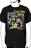 Circle Jerks- Group Sex on a black shirt