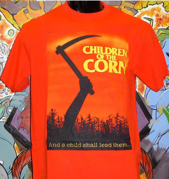 Children Of The Corn- And A Child Shall Lead Them on a red shirt