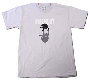 Green Day- Jumper on a light grey shirt (Sale Price!)