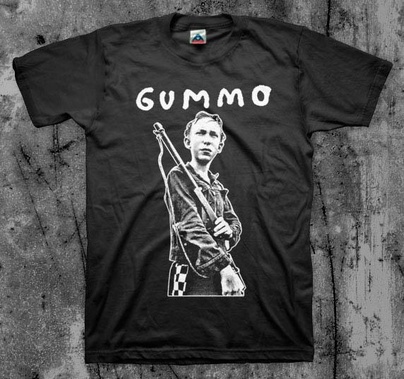 Gummo- Cat Killer on a black shirt