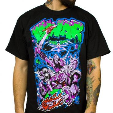 Gwar- Alien Decapitation on a black shirt