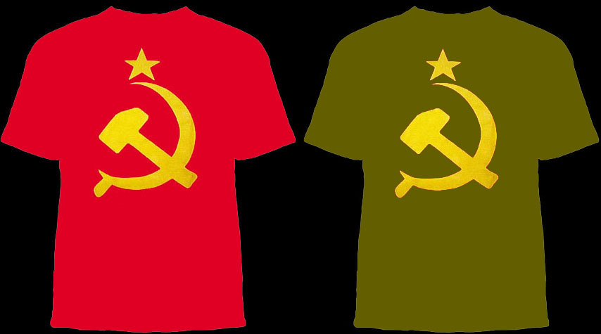 Hammer & Sickle shirt