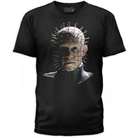 Hellraiser- Pinhead on a black ringspun cotton shirt by Goodie Two Sleeves