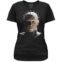 Hellraiser- Pinhead on a black girls fitted shirt by Goodie Two Sleeves (Sale price!)