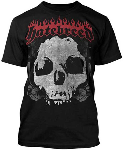 Hatebreed- Driven By Suffering on a black shirt
