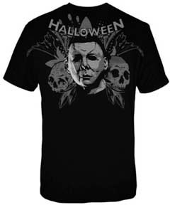 Halloween- Portait Of Madness on a black shirt (Sale price!)