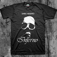 Inferno- Skull on a black shirt (Sale price!)