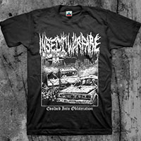Insect Warfare- Evolved Into Obliteration shirt (Various Color Ts)