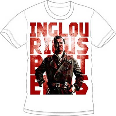Inglorious Basterds- Lt Raine on a white shirt (Sale price!)