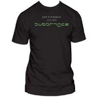 Joy Division- Substance on a charcoal ringspun cotton shirt (Sale price!)