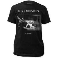 Joy Division- Closer on a black ringspun cotton shirt