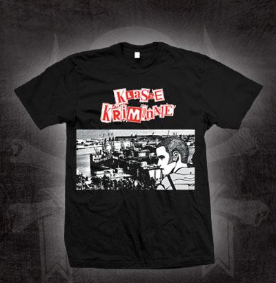 Klasse Kriminale- Docks on a black shirt (Sale price!)