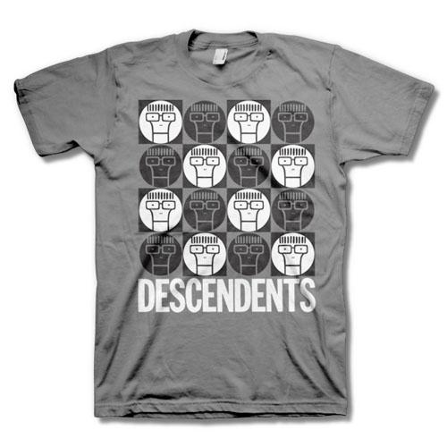 Descendents- Milo Circles on a grey shirt