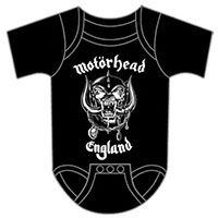 Motorhead- England on a black onesie