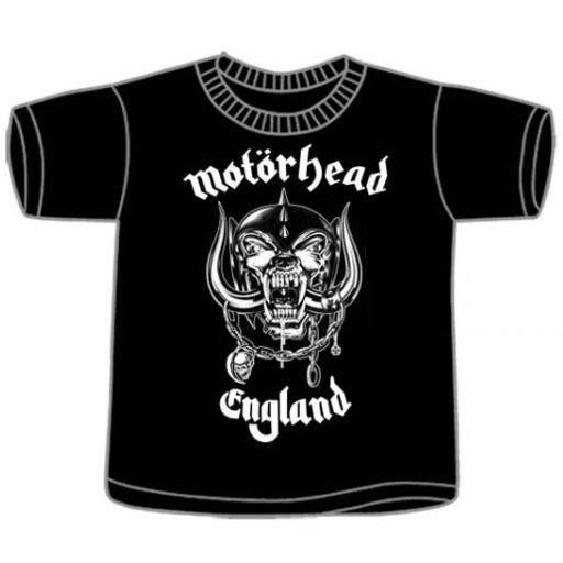 Motorhead- England on a black TODDLER shirt