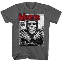 Misfits- All Ages on a charcoal shirt