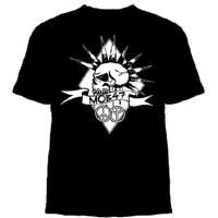 Mob 47- Skull on a black shirt- SALE sz S