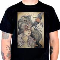 Lucky Mule Brand- Dodo's Window on a black shirt (Sale price!)