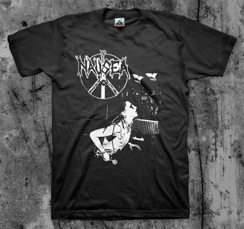 Nausea- Live Pic on a black shirt