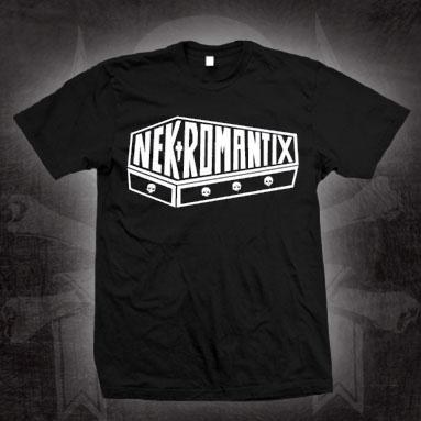 Nekromantix- Coffin Logo on a black shirt (Sale price!)