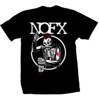 NOFX- 30 Years Skeleton on a black shirt