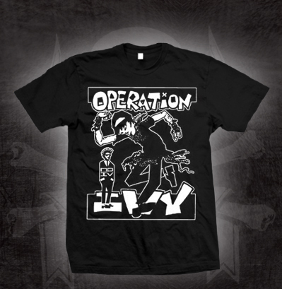 Operation Ivy- Skankin' on a black shirt (Sale price!)