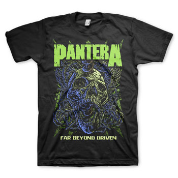 Pantera- Far Beyond Driven on a black shirt