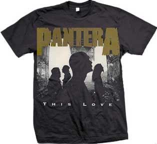 Pantera- This Love on a black shirt