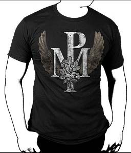 Pogues- Pogue Mahone Wings on a black shirt (Sale price!)