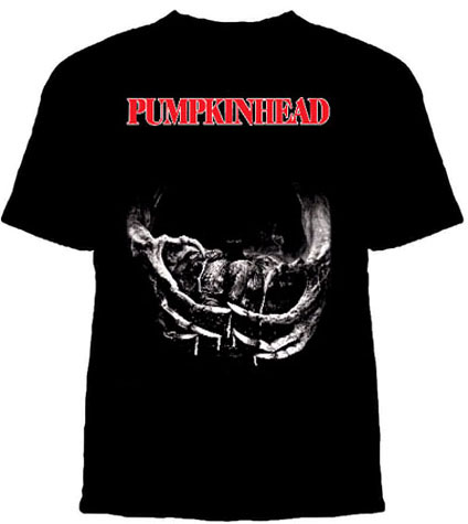 Pumpkinhead- Hands on a black YOUTH sized shirt