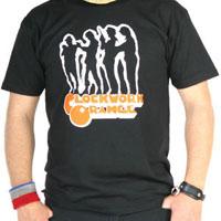 Clockwork Orange- Silhouette on a black shirt