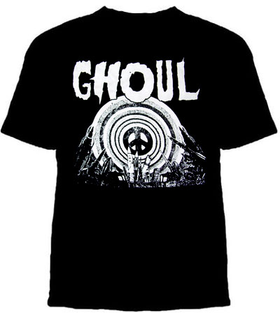 Ghoul- Missiles on a black shirt (Sale price!)