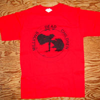 MDC- Millions Of Dead Children on a red shirt (Sale price!)