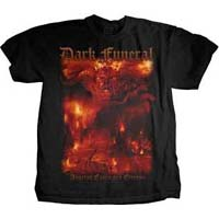 Dark Funeral- AEPE on front & back on a black shirt