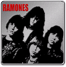 Ramones- Band Pic belt buckle (bb345) (Sale price!)