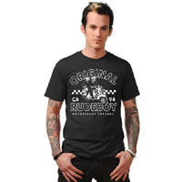 Special Rude-Boy black guys shirt by Steady Clothing  - SALE