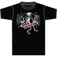 Social Distortion- Skeleton on a black TODDLER shirt