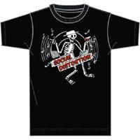 Social Distortion- Skeleton on a black TODDLER shirt