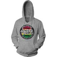 Sublime- Positive Vibrations on a grey hooded sweatshirt