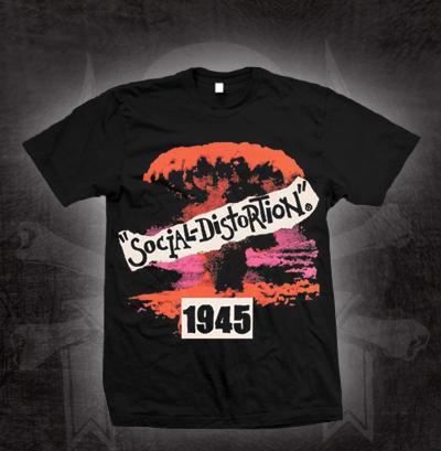 Social Distortion- 1945 on a black shirt (Sale price!)